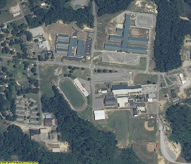 Winston County, AL aerial photography detail