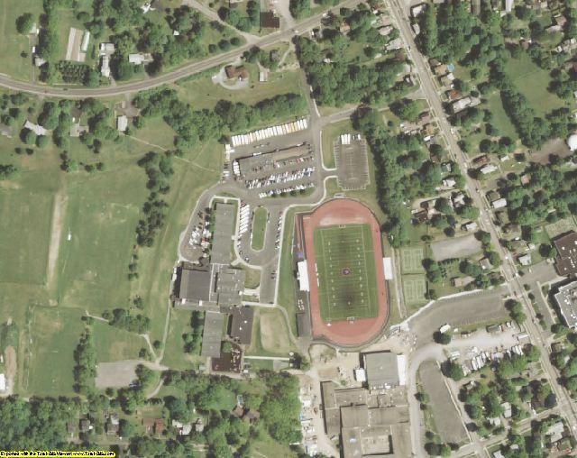 Yates County, NY aerial photography detail