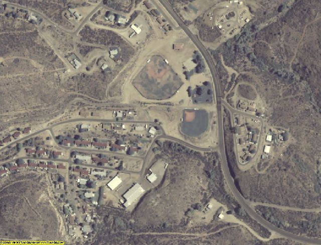Yavapai County, AZ aerial photography detail