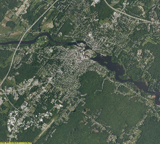 Maine aerial photography