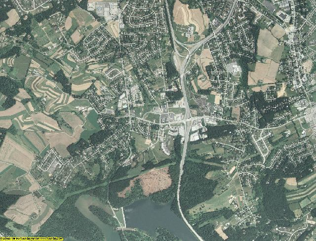 York County, Pennsylvania aerial photography