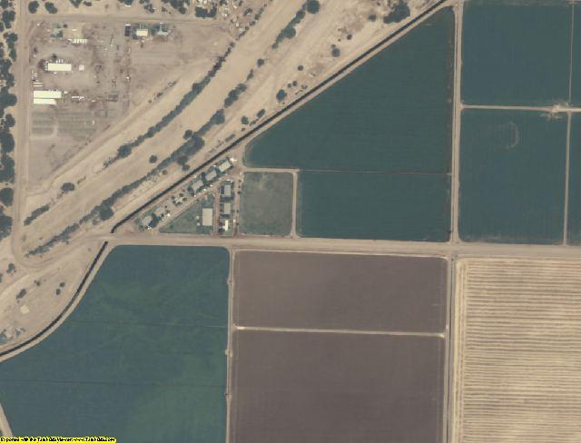 Yuma County, AZ aerial photography detail