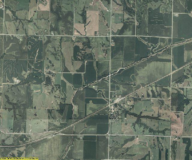 Adams County, Iowa aerial photography
