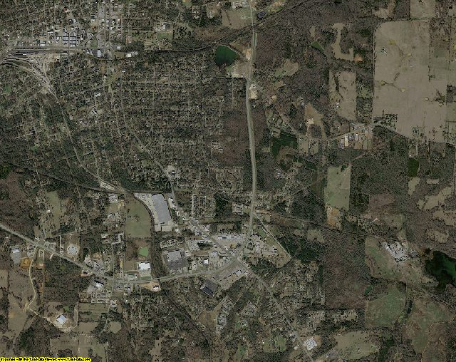 Anderson County, Texas aerial photography