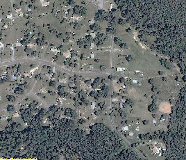 Augusta County, VA aerial photography detail