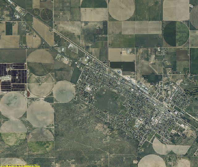 Bailey County, Texas aerial photography
