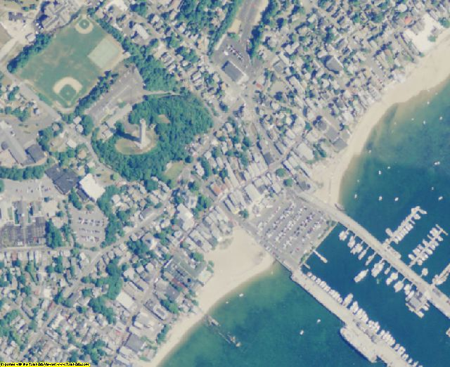 Barnstable County, MA aerial photography detail