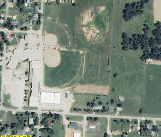 Barry County, MO aerial photography detail
