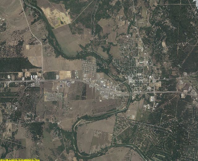 Bastrop County, Texas aerial photography