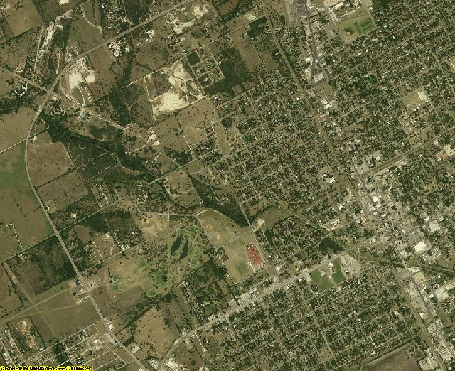 Bee County, Texas aerial photography