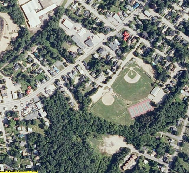 Belknap County, NH aerial photography detail