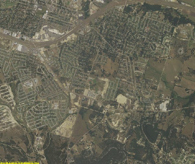 Bell County, Texas aerial photography