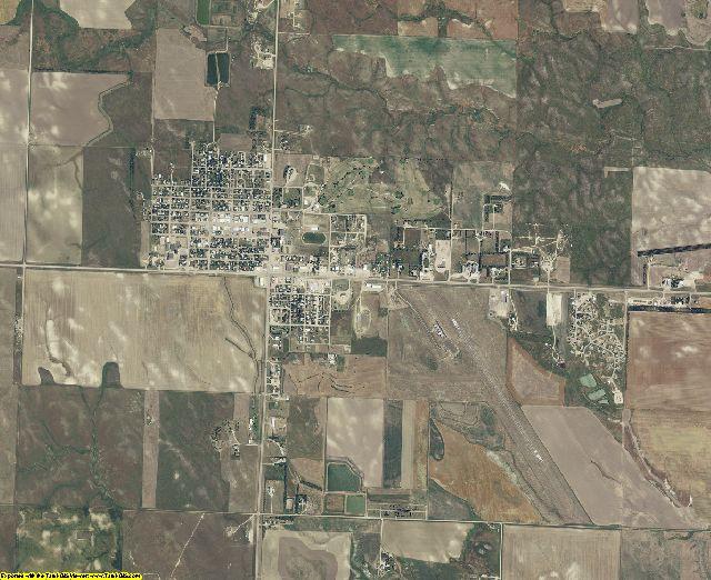Bennett County, South Dakota aerial photography