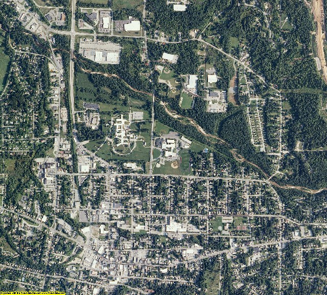 Bennington County, Vermont aerial photography