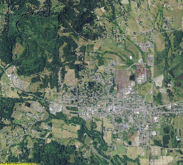 Benton County, Oregon aerial photography