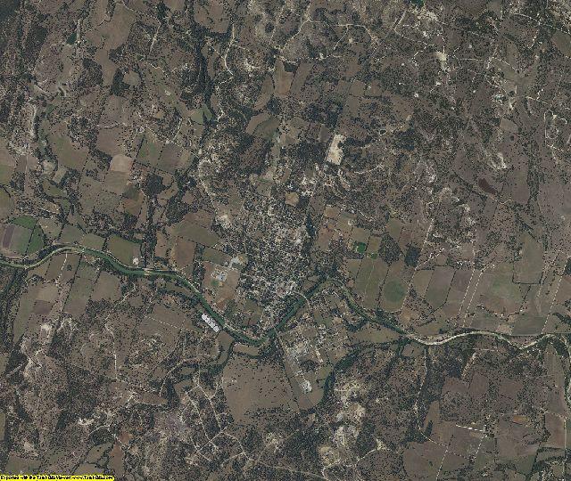 Blanco County, Texas aerial photography