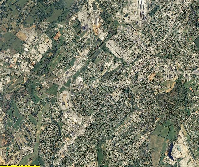 Blount County, Tennessee aerial photography