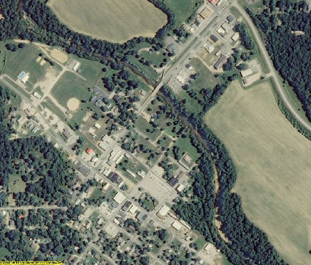 Bollinger County, MO aerial photography detail