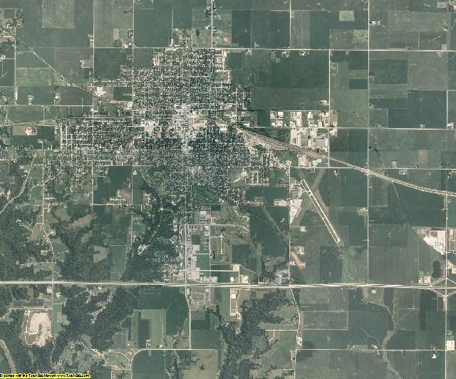 Boone County, Iowa aerial photography