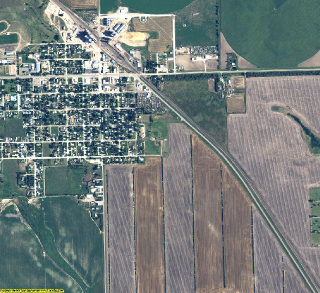 Box Butte County, Nebraska aerial photography