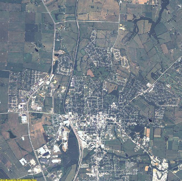 Boyle County, Kentucky aerial photography