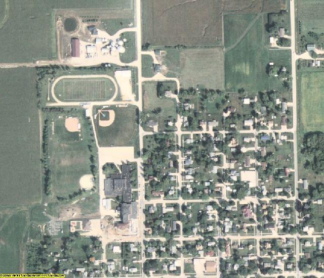 Buchanan County, IA aerial photography detail