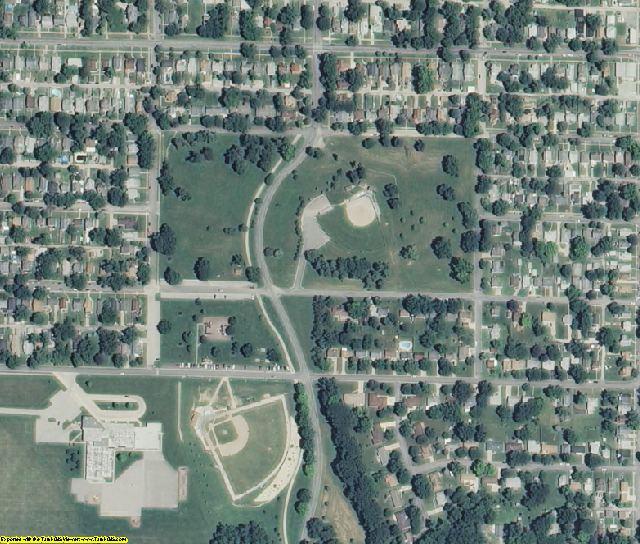 Buchanan County, MO aerial photography detail
