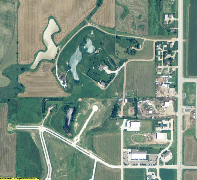 Buffalo County, NE aerial photography detail