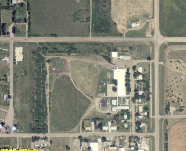 Buffalo County, SD aerial photography detail