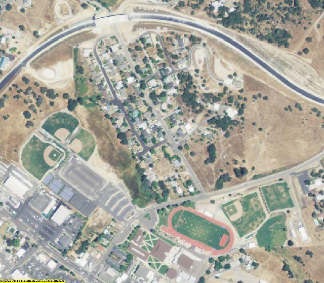 Calaveras County, CA aerial photography detail
