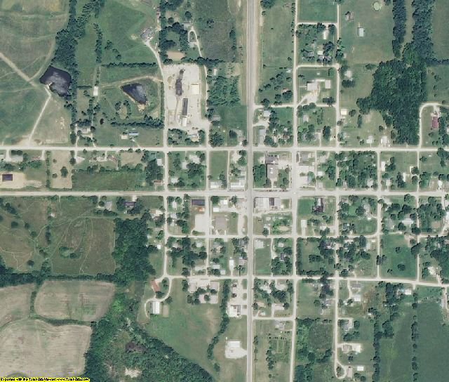 Caldwell County, MO aerial photography detail