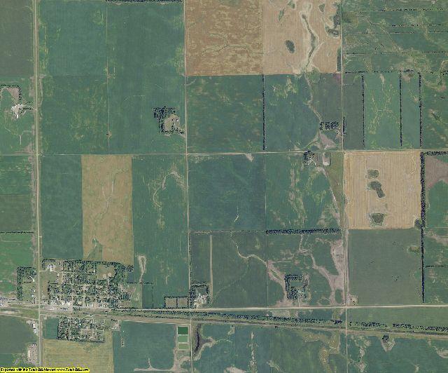 Cass County, North Dakota aerial photography
