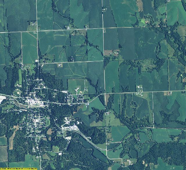 Cass County, Nebraska aerial photography