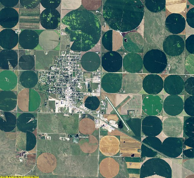 Chase County, Nebraska aerial photography
