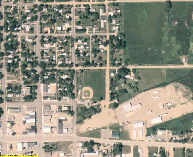 Clark County, SD aerial photography detail