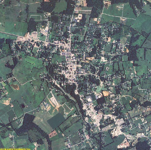 Clinton County, Kentucky aerial photography