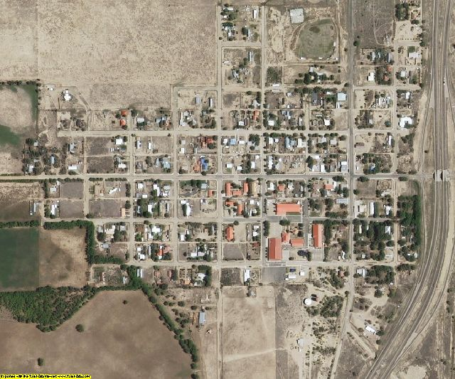 Colfax County, NM aerial photography detail