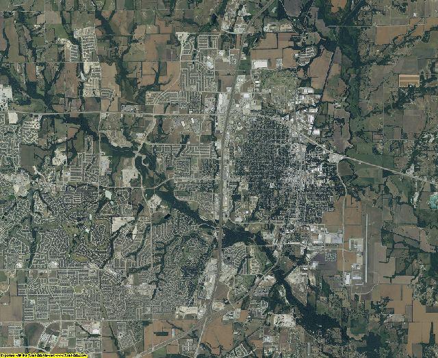 Collin County, Texas aerial photography