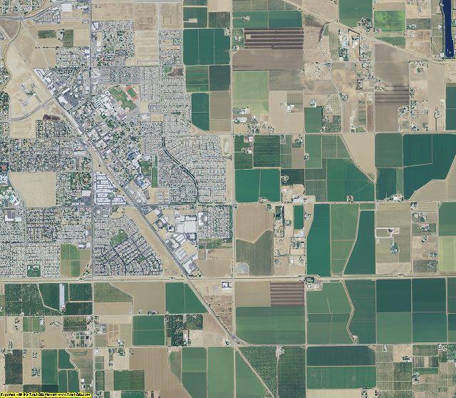 California aerial photography