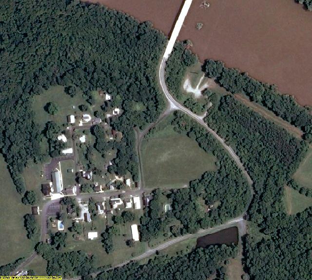 Cumberland County, VA aerial photography detail