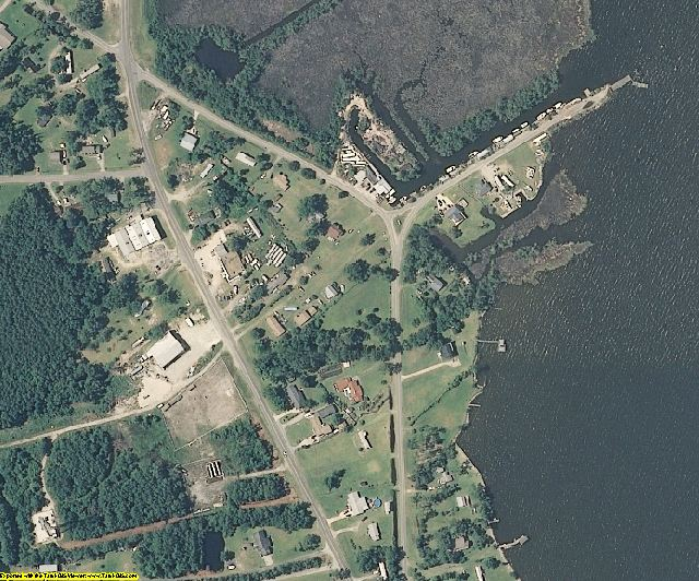 Dare County, NC aerial photography detail