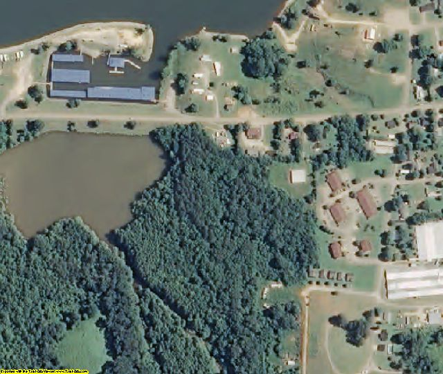 Decatur County, TN aerial photography detail