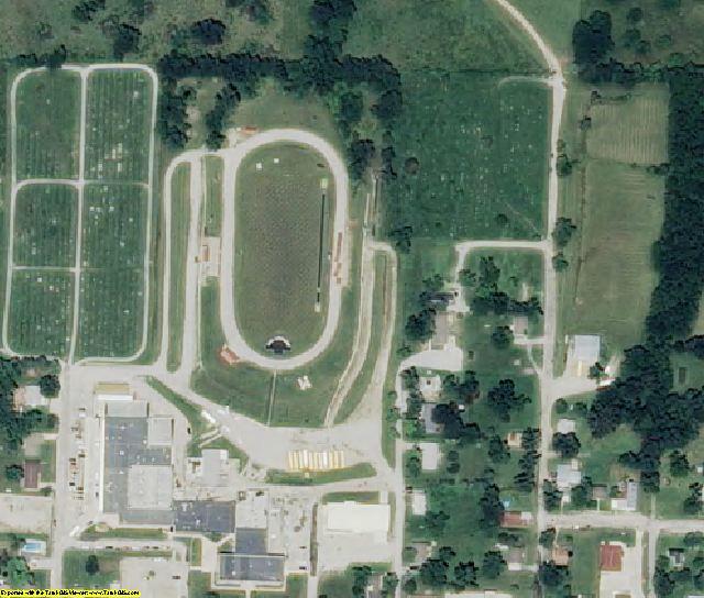 DeKalb County, MO aerial photography detail
