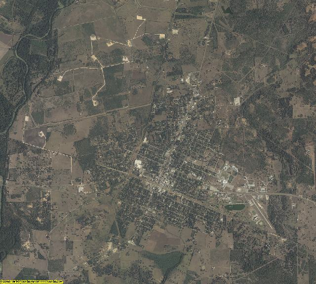 DeWitt County, Texas aerial photography