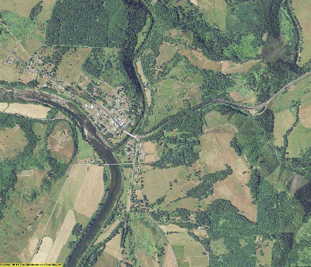 Douglas County, Oregon aerial photography