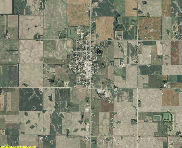 Douglas County, South Dakota aerial photography