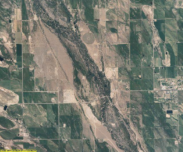 Duchesne County, Utah aerial photography