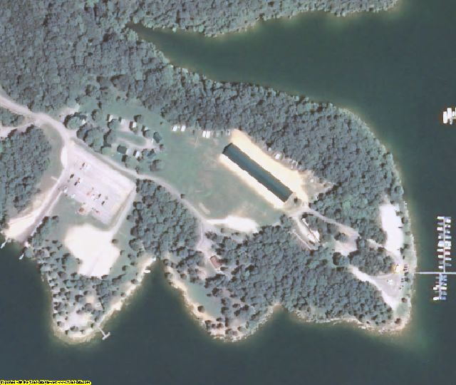 Edmonson County, KY aerial photography detail