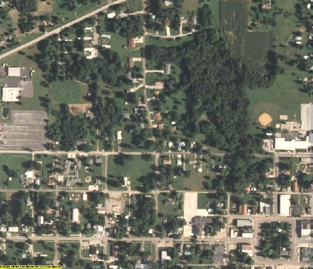 Edwards County, IL aerial photography detail