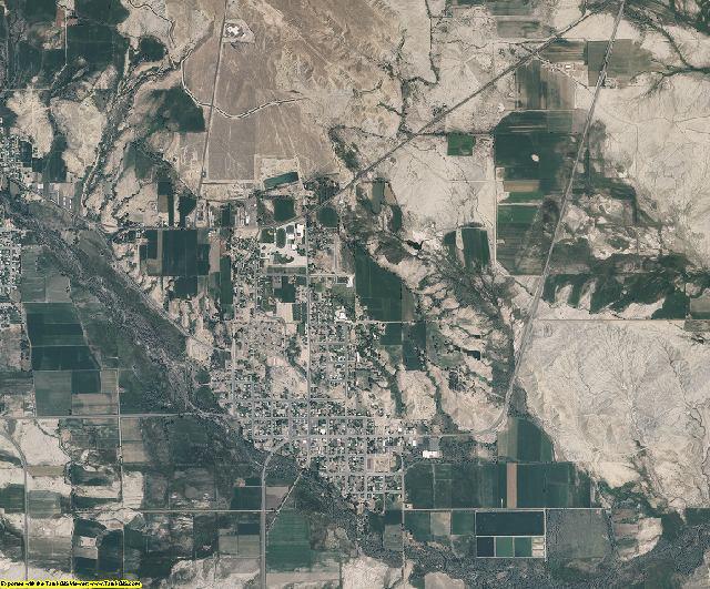 Emery County, Utah aerial photography